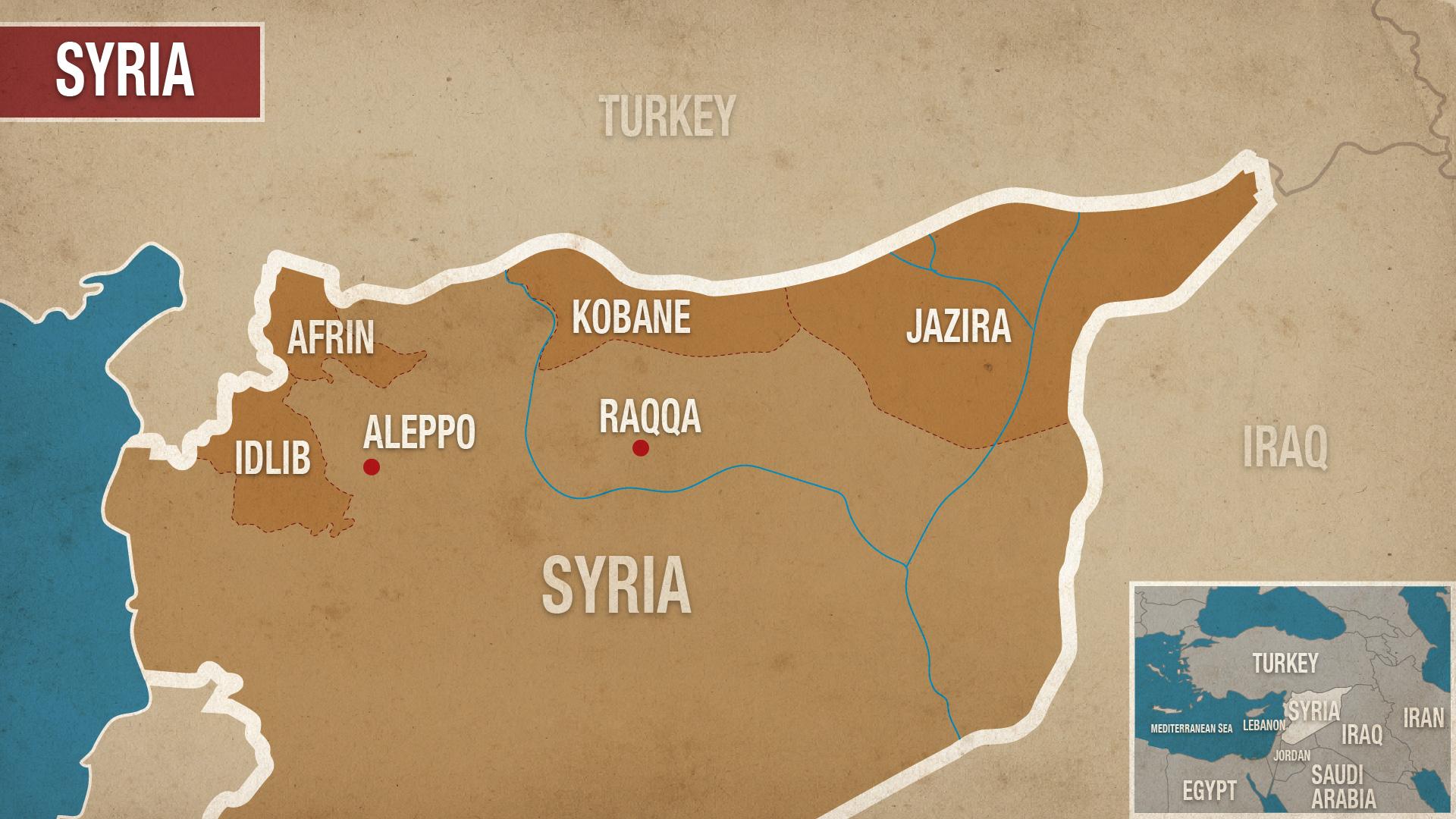 Syria Rojava Kurdistan YPG Turkey Afrin PKK Aleppo