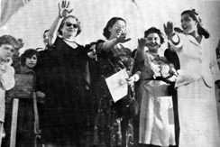 Women members of the ALM in 1953