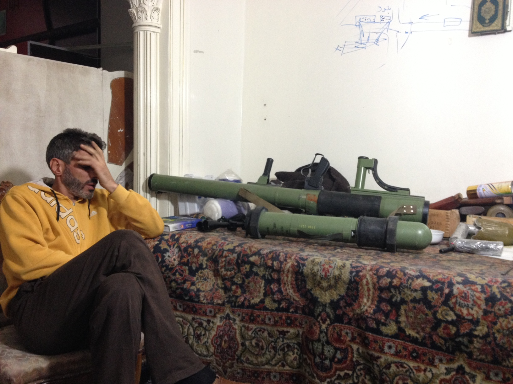 New anti-Tank missiles acquired by secular opposition elements. They claim to have acquired 10 very recently.