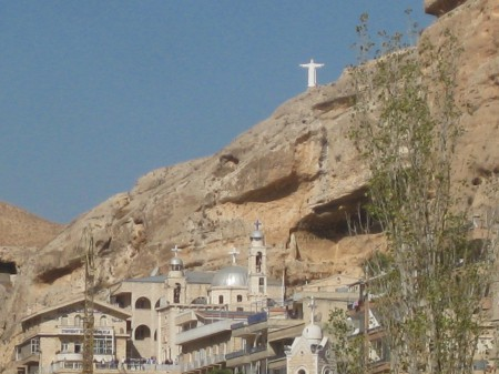 A Church in Maaloula. Photo: Kellie Stirling / Syria Comment