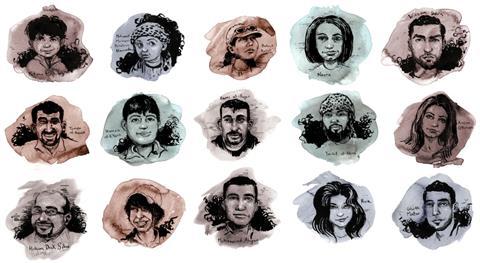 Fallen Syrians, Molly Crabapple