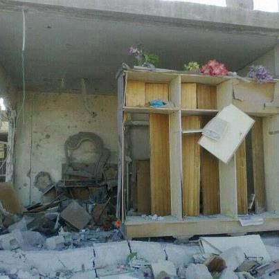 Destruction in Ghabagheb