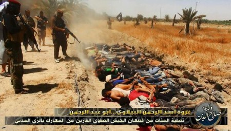 ISIS mass killing Shiites in Iraq
