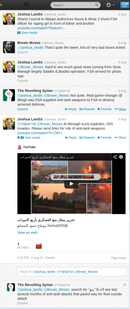 Joshua Landis (joshua_landis) on Twitter