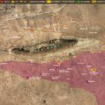 Le Carabinier map of Sinjar Shingal Iraq, May 29, 2017 - Yazidis