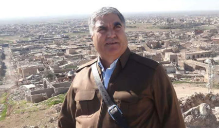 Mahama Khalil, unelected mayor of Shingal (Sinjar)