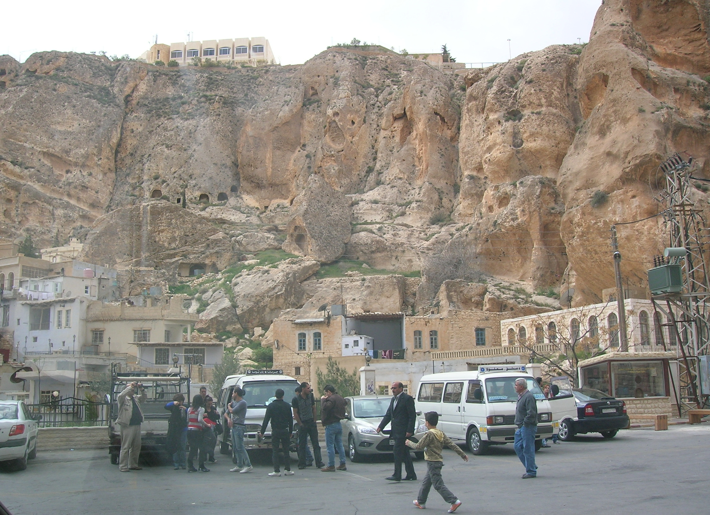 Ma'loula, Syria. Photo: Matthew Barber / Syria Comment