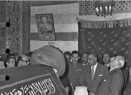 Nasser and Quwatli 1958