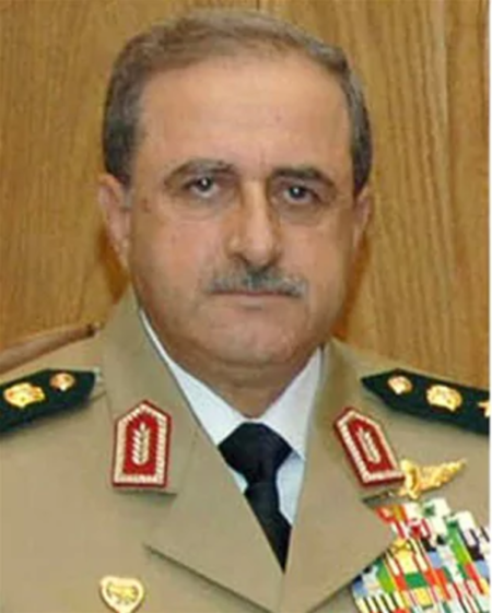 Syrian Defence Minister General Daoud Rajha