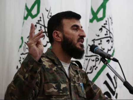 Zahran Alloush, Leader of the Islamic Army.