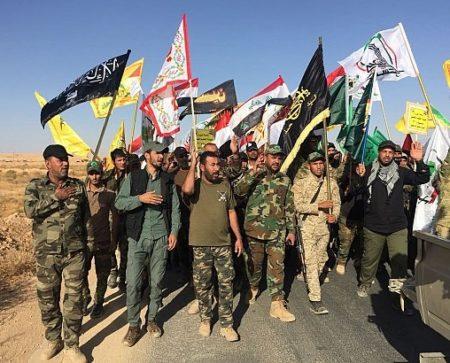 Iran PMU Hashd al-Sha'bi Iraq Shaabi