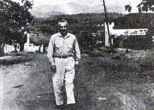 Shishakli pictured in exile in Brazil a few days before his assassination.