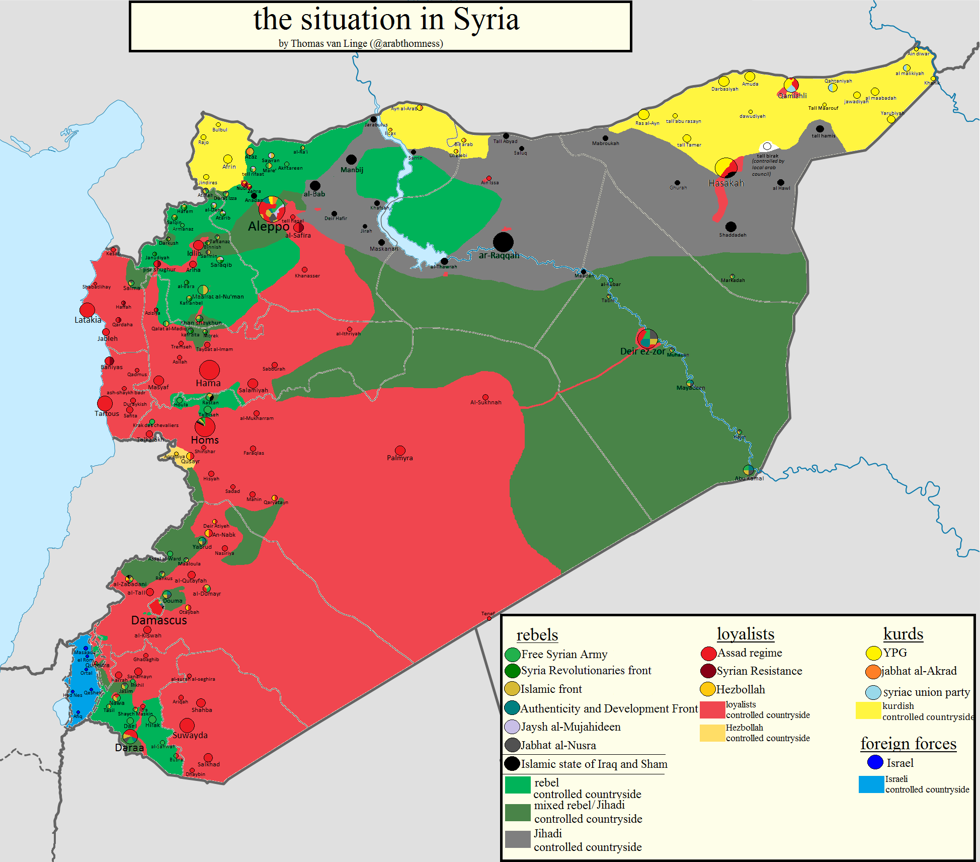 Detailed Syria Maps; Activists Honor Revolution Dead in Washington ...