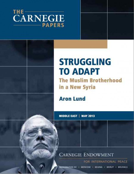 Syrian Muslim Brotherhood Aron Lund