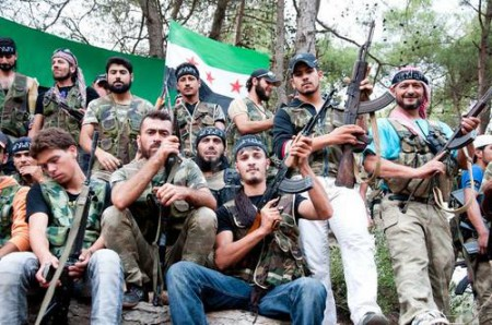 Syrian Turkomen Rebels (Source Demotix)