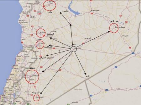 Tadmur, Palmyria, regime loss IS advantage