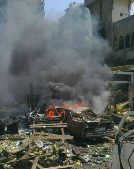 Tripoli bombing August 23 2013