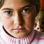Yazidi refugee IDP girl in Kurdistan