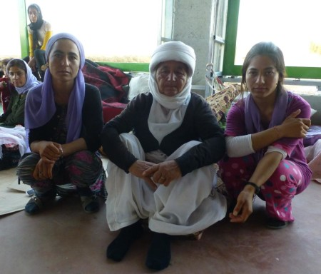 Yazidi refugee women in the Dohuk governorate