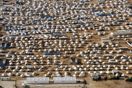 Zaatari refugee camp Jordan