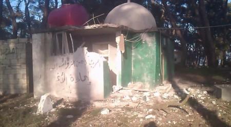 Destroyed Alawite Shrine of Saydna al-Khidr