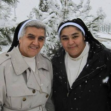 Older photo of the two nuns: source unknown